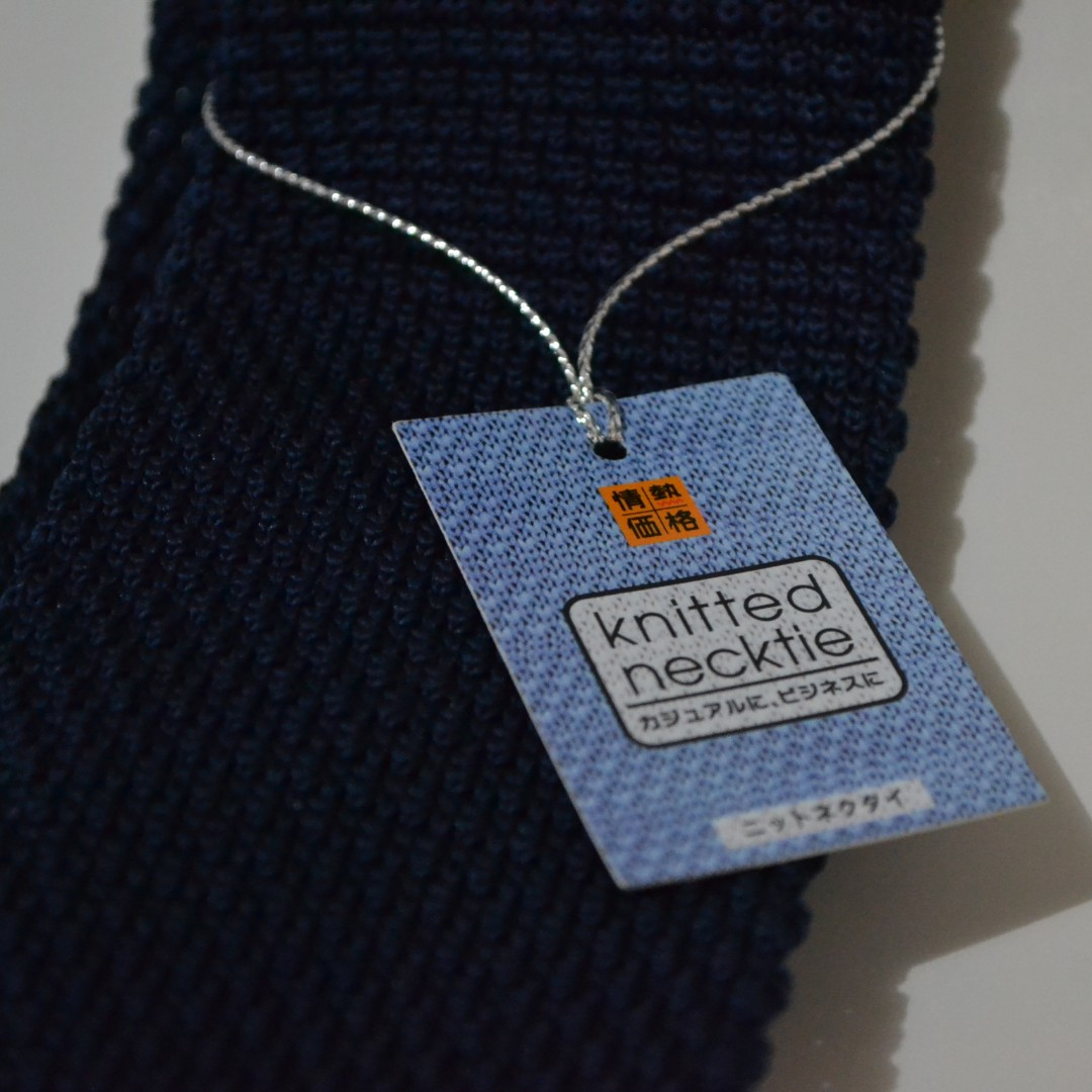 情熱価格 Knitted necktie (Imported from Japan)