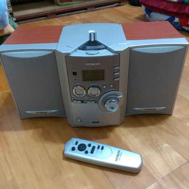 日立 USB MP3 CD 音響