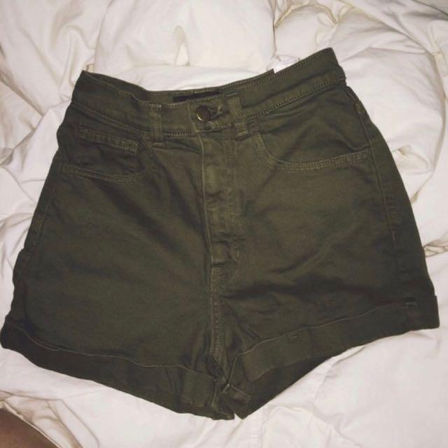 AA High Waisted Shorts