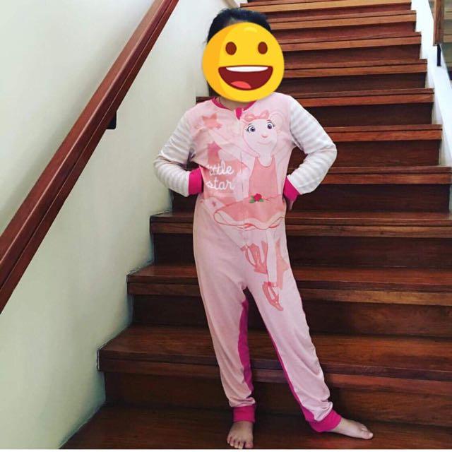 Angelina Ballerina Onesie Pajamas