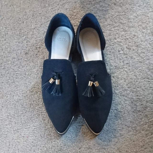 Asos Black Tassel Loafer