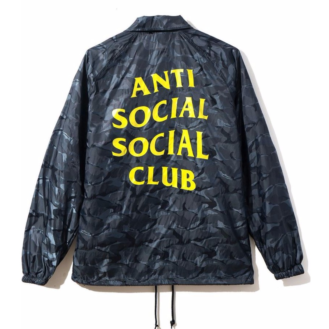 3f8011620b7f ASSC Risk Coach Jacket Anti Social Social Club
