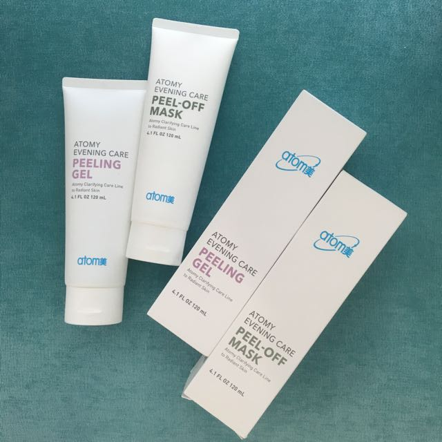 Atomy Evening Care Peeling Gel & Peel-Off Mask Set