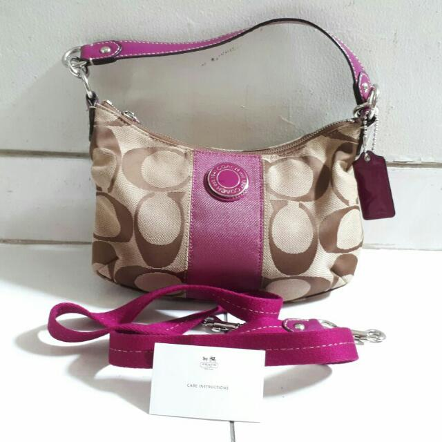REPRICE- Authentic Coach Sling Bag