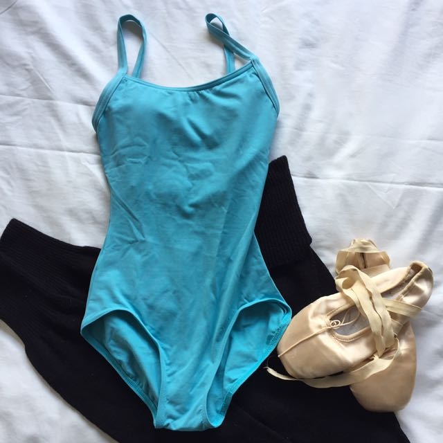 Baby Blue Leotard Or Bodysuit