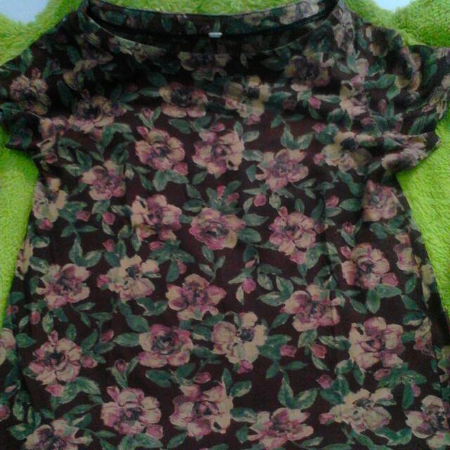 Baju Bunga Bahan Adem