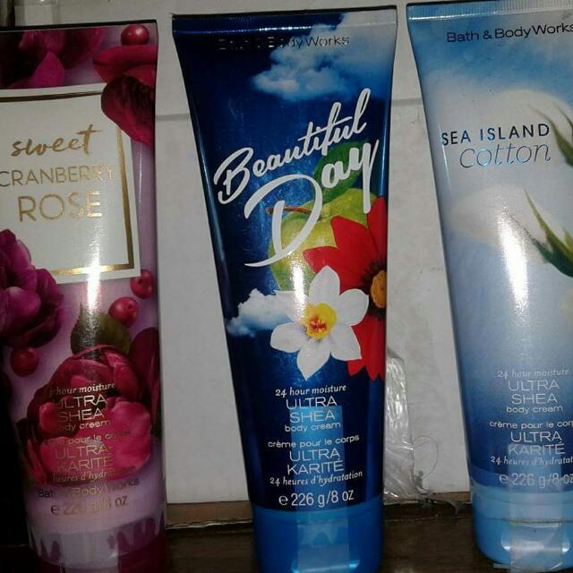 Bath And Body Work Body Cream