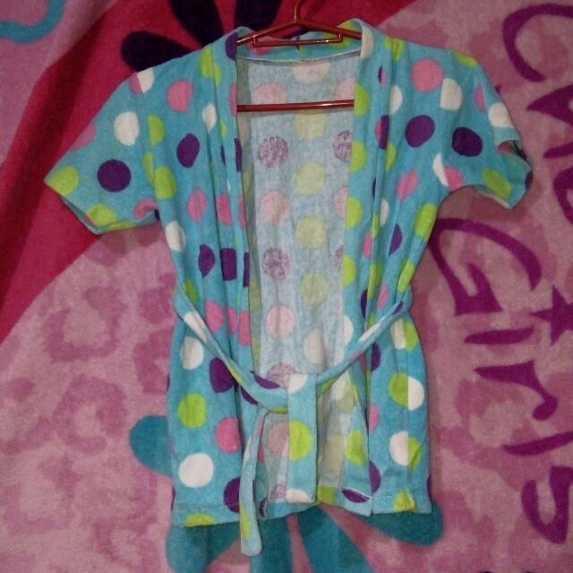 Bath robe for girls kids