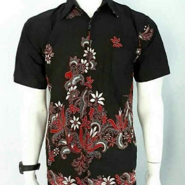 Batik Man Maroon