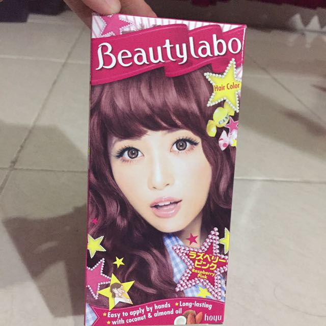 Beauty Labo Semir Instan Mudah Warna Pink