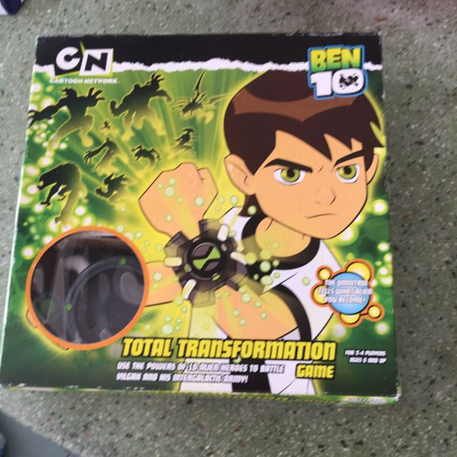 Ben 10 Total Transformation Game