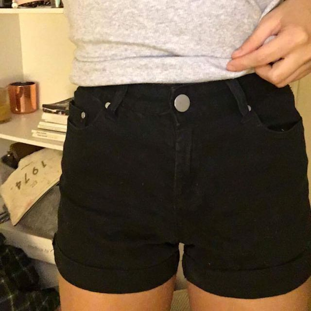 Black Glassons Shorts / Wrangler Look Alikes