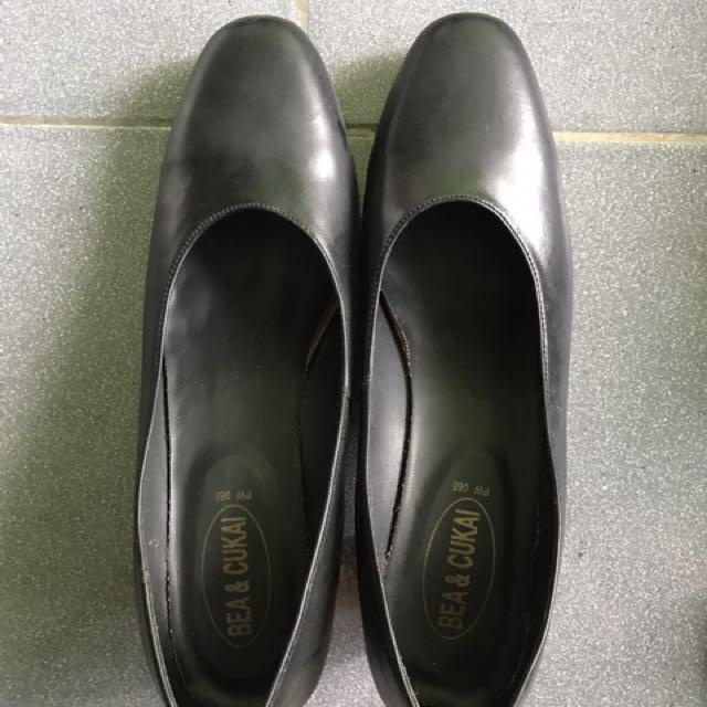 Black Heels Office Shoes