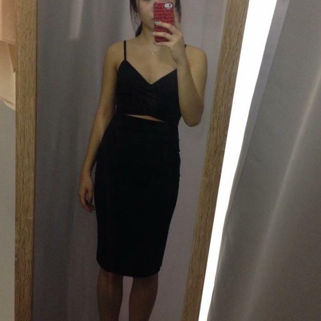 Black Tight Bodycon Dress