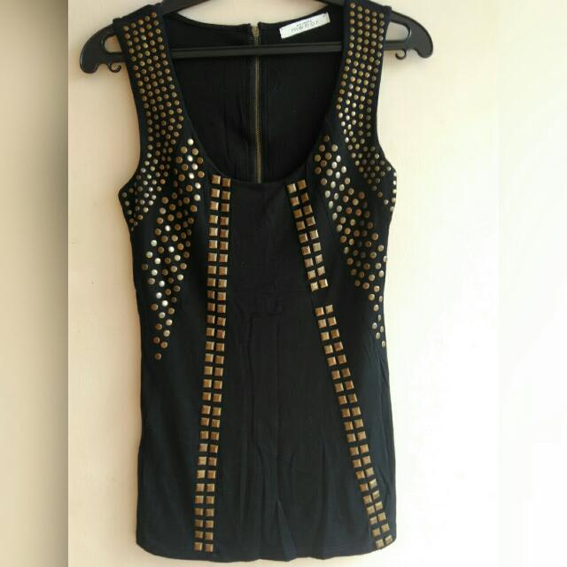 Black Top With Studs