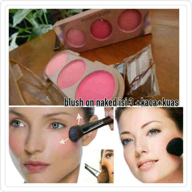 Blush on powder Naked isi 3