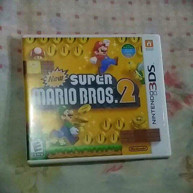 BrandNew Nintendo 3DS Mario Bros 2