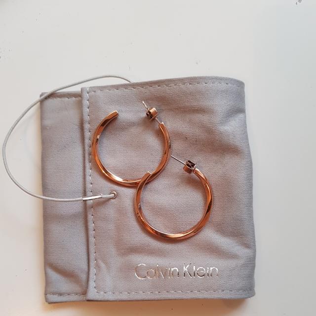 Calvin Klein Hoop Earrings