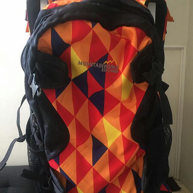Tas carrier backpack adventure 30 Lt