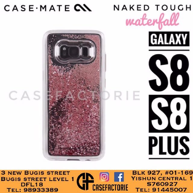 hot sales 44e71 0154b CASEMATE WATERFALL FOR SAMSUNG GALAXY S8/S8+ PLUS CASE