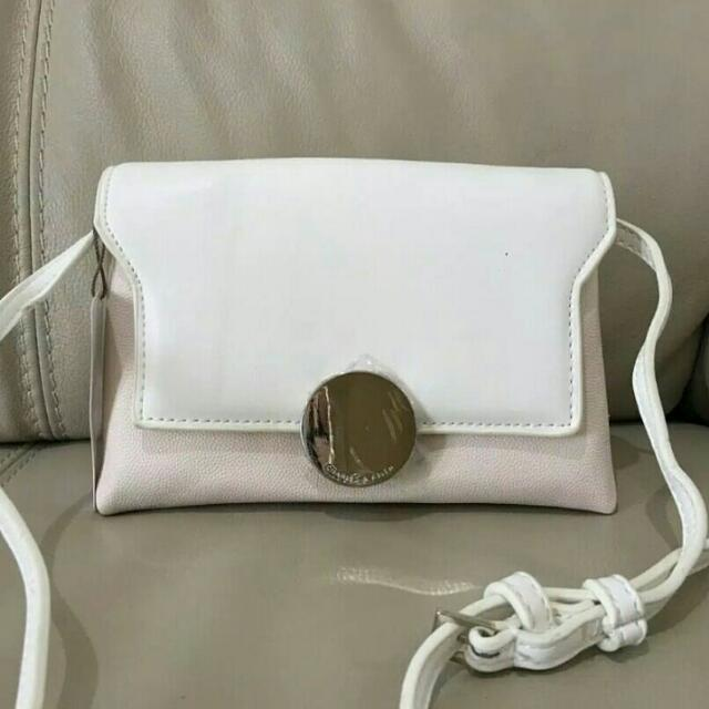 Charles & Keith Two Tone Slingbag