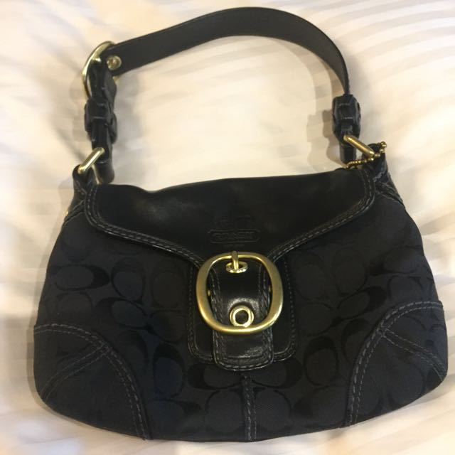 Preloved Coach Handbag (G0773-11441)