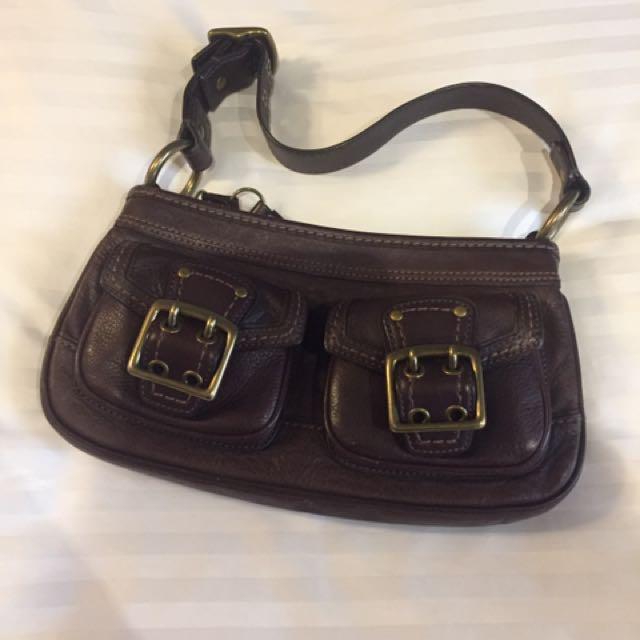 Preloved Coach Handbag  (L05K-5732)