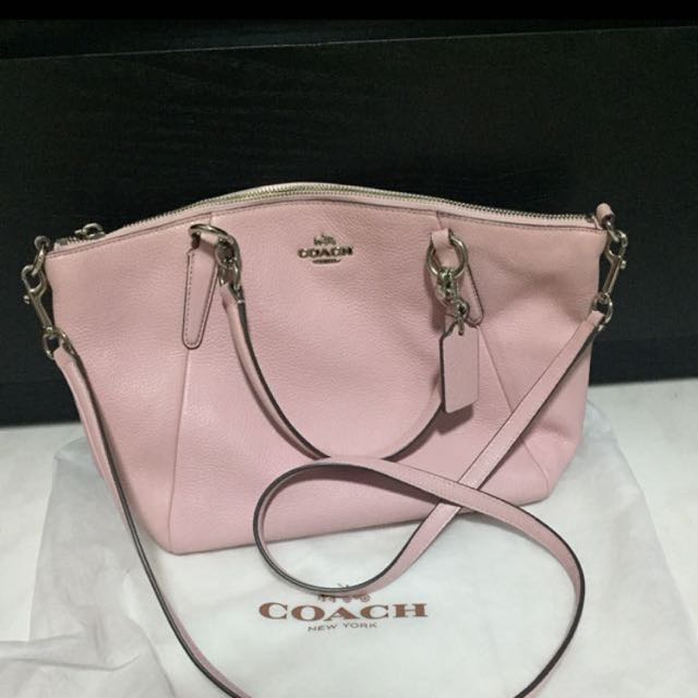 fa32d3db56f ... switzerland coach pink sling bag womens fashion bags wallets on  carousell 1c365 a8ae4