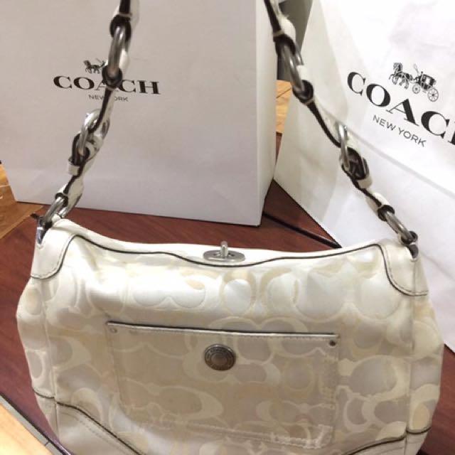 Coach White Bag 2