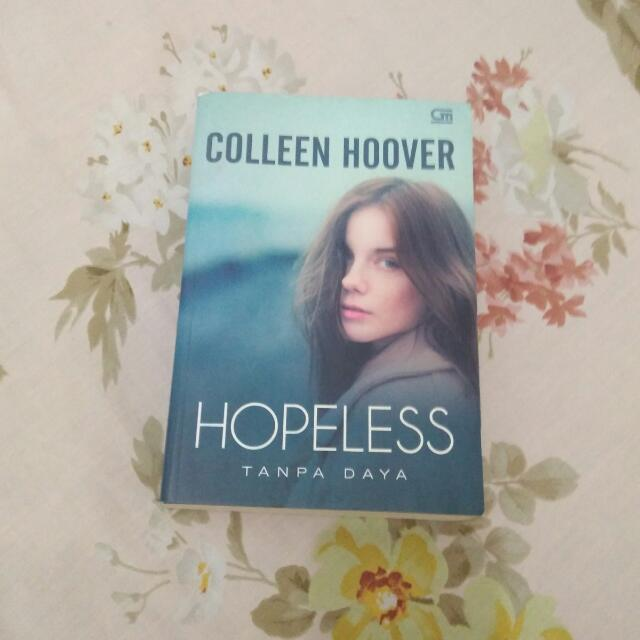 COLLEEN HOOVER - HOPELESS (INDONESIA TRANSLATION)