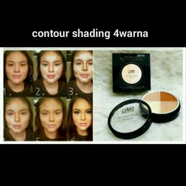 Contour Shading Bulat 4warna