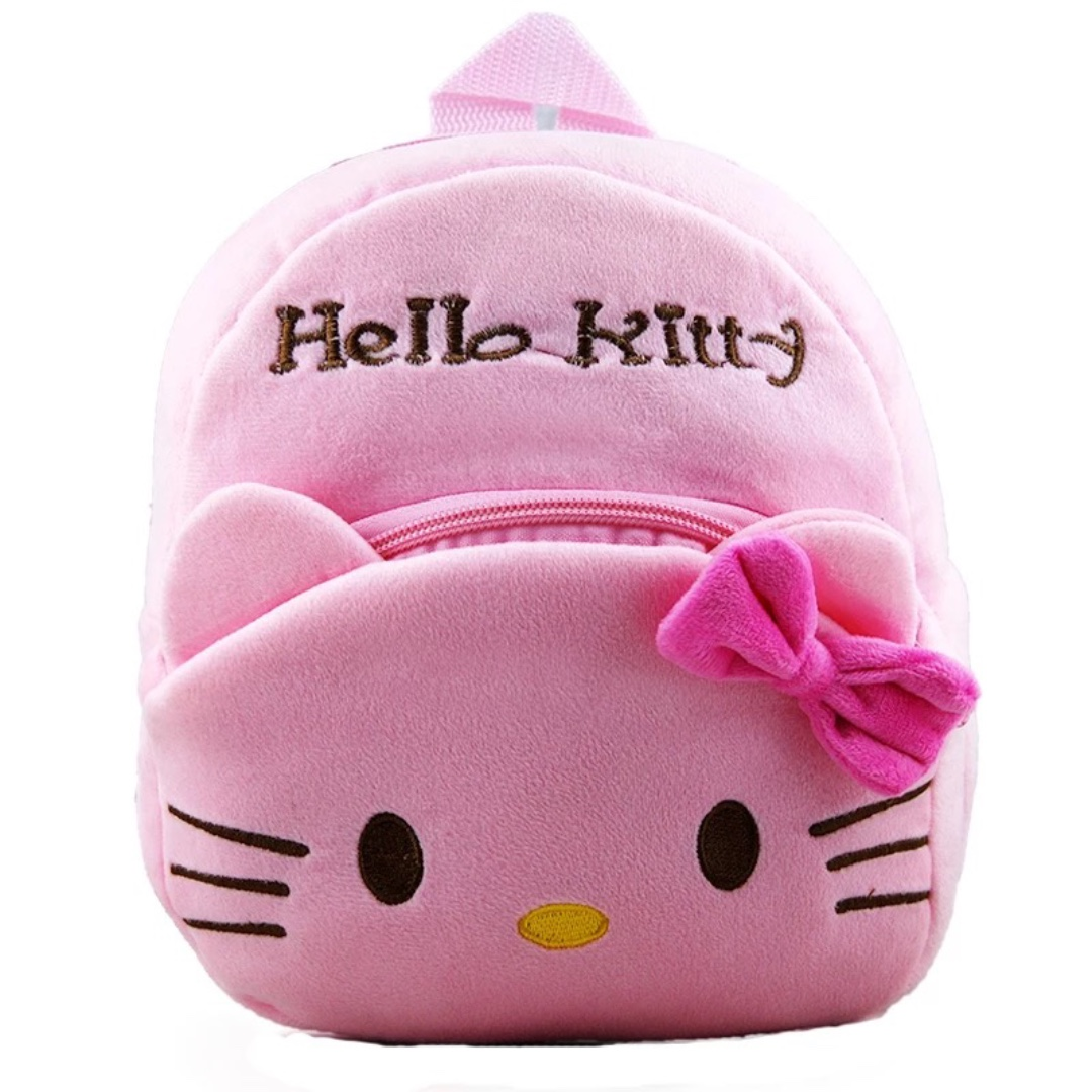 Cute Hello Kitty Pink Children Baby Backpack Toddler School Bag ... d5a80a1573809