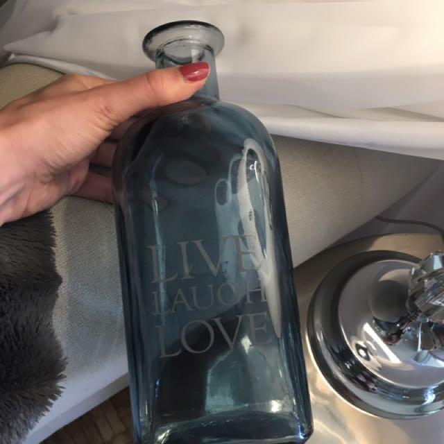Decor Glass Bottle