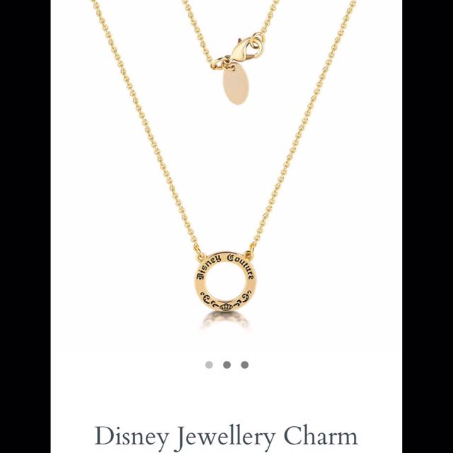 DISNEY COUTURE Jewellery Charm Necklace