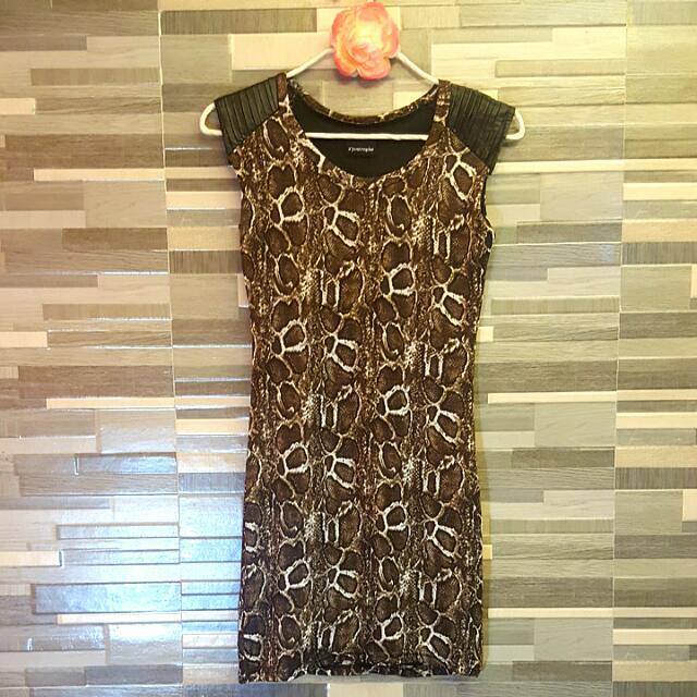 Dress Animal Print (Apostrophe)