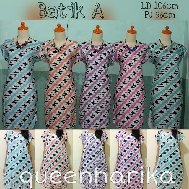 Dress Daster Batik A ¦ Baju Diskon ¦ Bagus ¦ Fashion