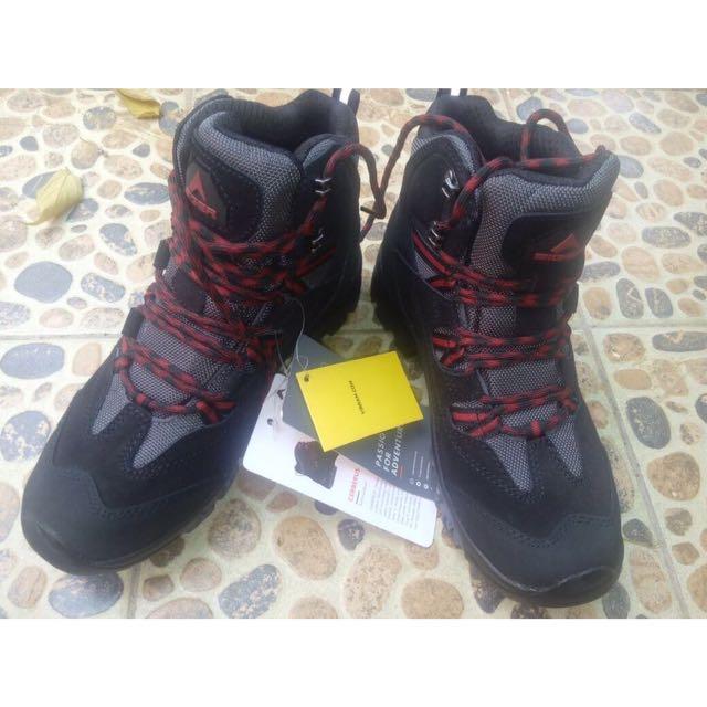 eiger shoes boot cerberus vibram (new) - black