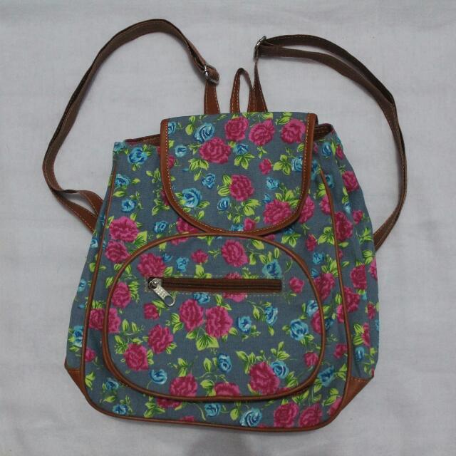 Flower Mini Bagpack