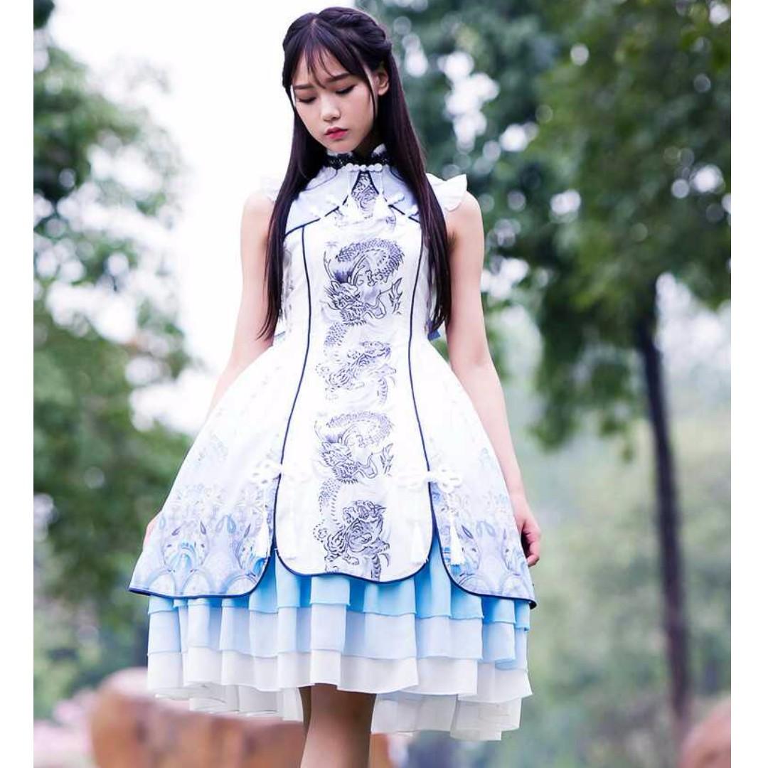 For Rent: Qi Lolita Dress, Women's Fashion, Clothes