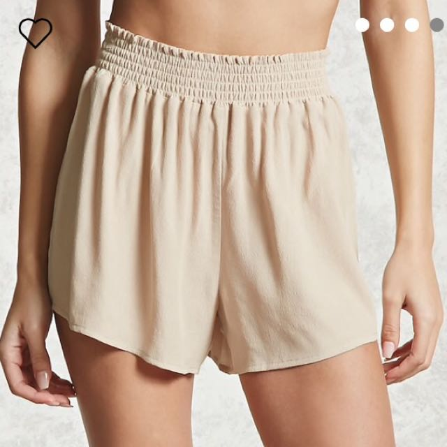 Forever 21 Beige Shorts