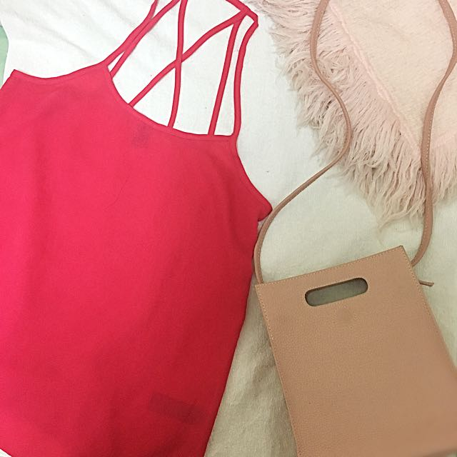 Forever 21 Pink Cami Tank Top