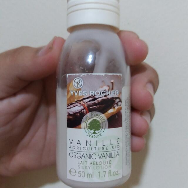 (Freeongkir Jabodetabek) Yves Rocher Body Lotion Vanilla