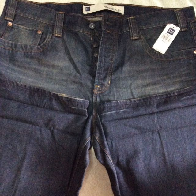 REPRICED‼️gap straight fit jeans