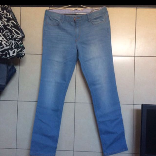Giordano mid slim jeans