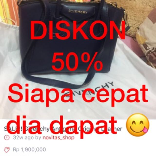 Givenchy SALE !! Diskon 50%