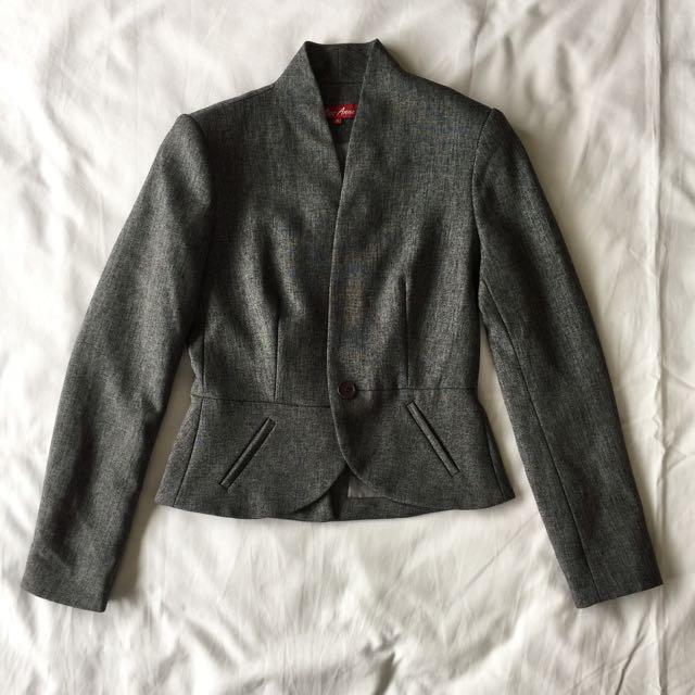 Grey Blazer (fully lined)