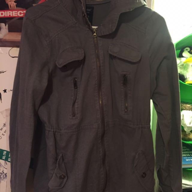 Greyish Jacket