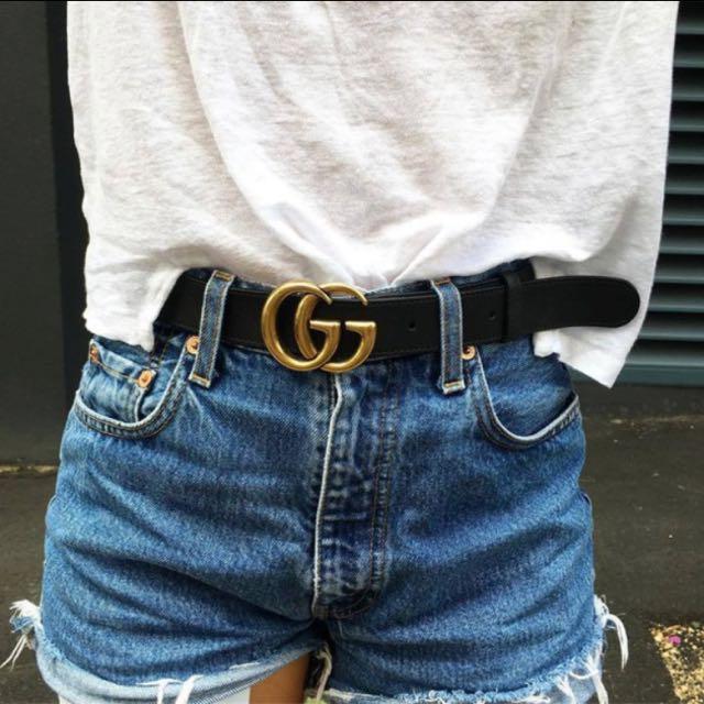 Gucci inspired logo PU belt, Women\u0027s Fashion, Accessories on