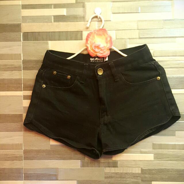 High Waist Short (Net Jeans)