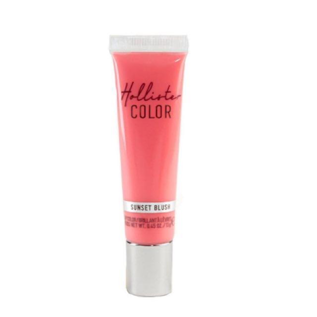 ✔️Hollister Sunset Blush Lip Color